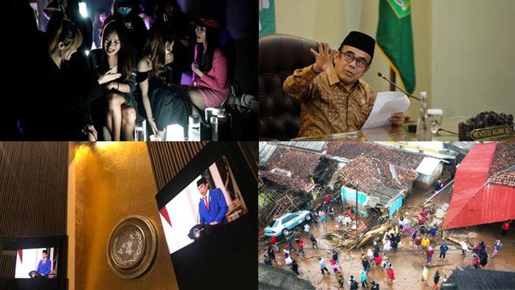 Top 5 Foto Pekan Ini: Banjir di Sukabumi-Pidato Jokowi di PBB