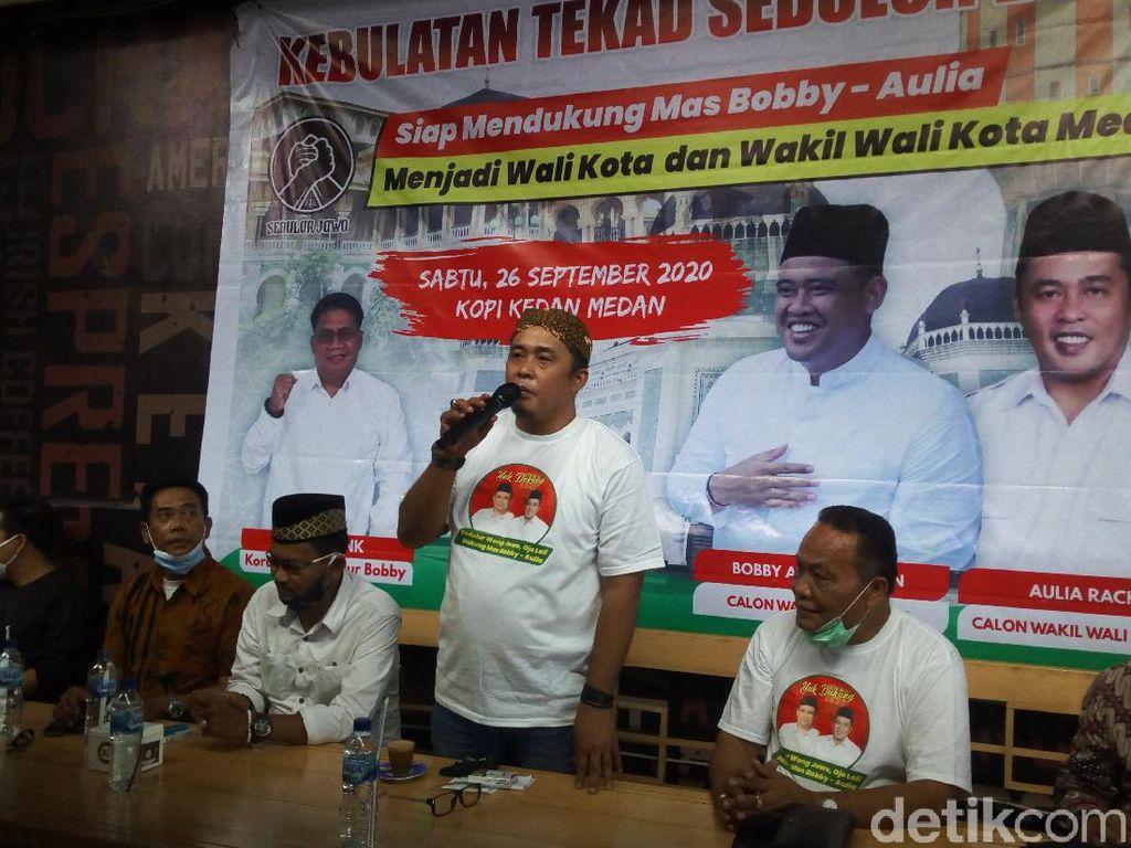 Hari Pertama Kampanye, Aulia Temui Warga Jawa di Medan Tanpa Bobby Nasution