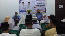 Hari Pertama Kampanye Pilwalkot Medan, Akhyar-Salman Temui Para Relawan