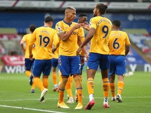Crystal Palace Vs Everton: Menang Lagi, The Toffees Naik ke Puncak Klasemen