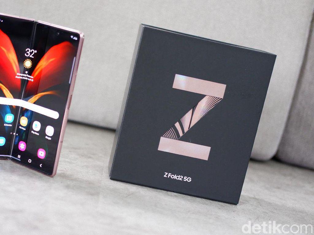 Rahasia Galaxy Z Fold2 Bisa Irit Baterai Meski Punya Layar Besar