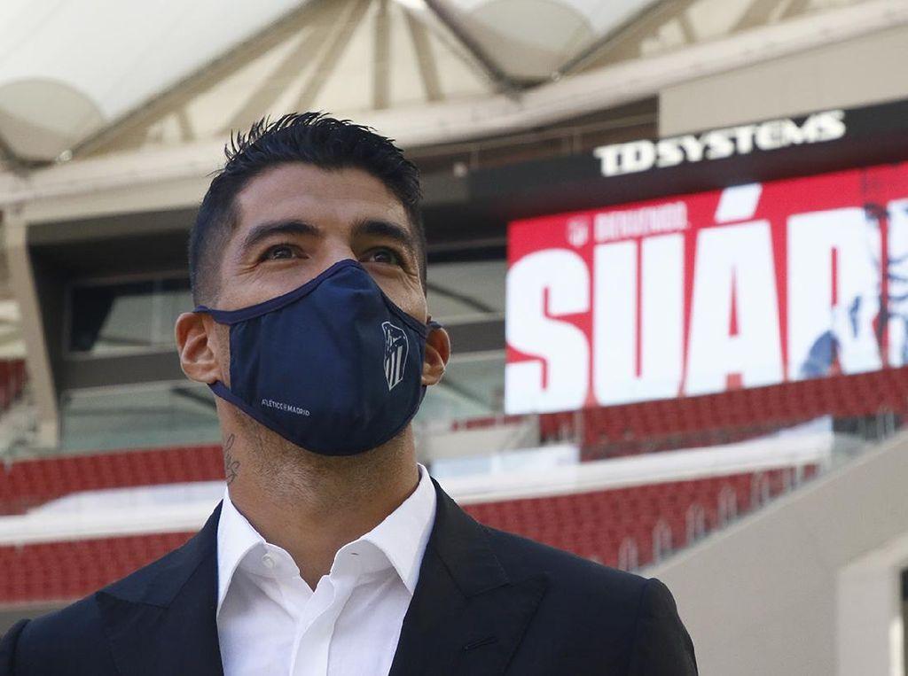 Simeone Yakinkan Luis Suarez Gabung Atletico Madrid