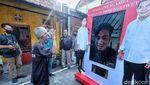 Momen Gibran Kampanye Virtual ke Kampung Solo
