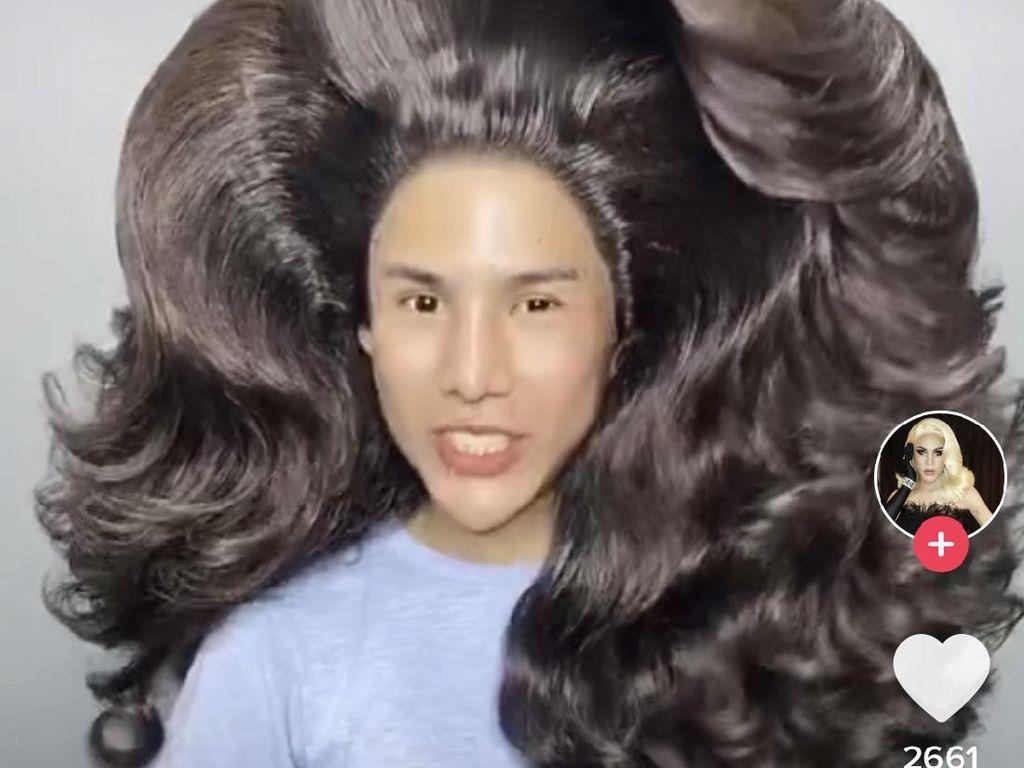 Viral Gaya Rambut Drag Queen Thailand yang Disebut Mirip Reog Ponorogo