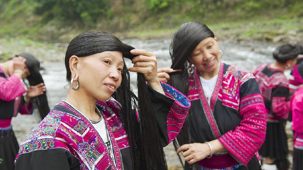 Potret Suku Yao di China, Pemilik Rambut Terpanjang Dunia
