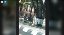 Viral Video Sejoli Mesum di Alun-alun Sragen Saat Siang Bolong