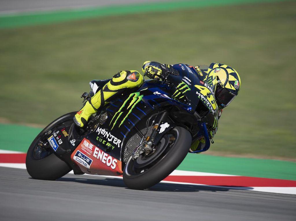 Hari Pertama yang Agak Horor buat Valentino Rossi
