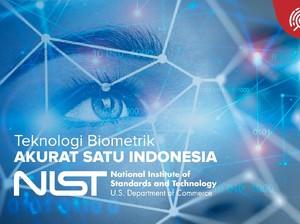Biometrik Karya Anak Bangsa Tembus Ranking 25 Besar Dunia
