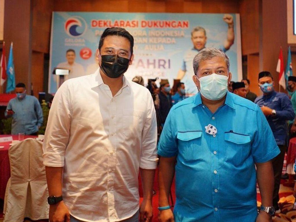 Bobby Nasution: Terima Kasih Fahri Hamzah Masukannya, Saya Makin Semangat