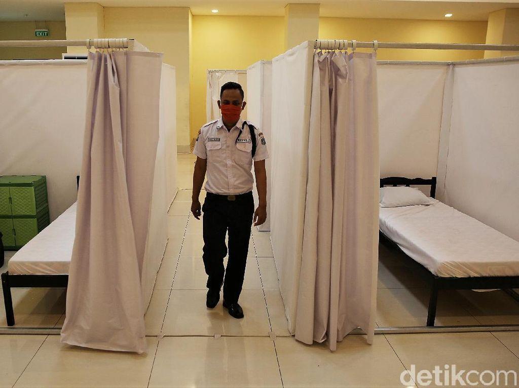 BNPB Setop Pembiayaan Hotel, DKI Siapkan GOR untuk Isolasi Mandiri