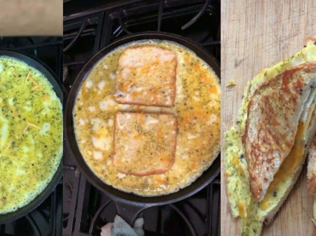 5 Kreasi Sandwich Telur Ala TikTok yang Mudah Dibuat