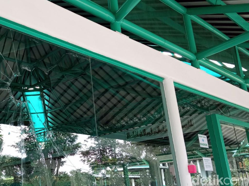 Usai Dirusak, Masjid Nurul Jamil di Dago Bandung Belum Diperbaiki