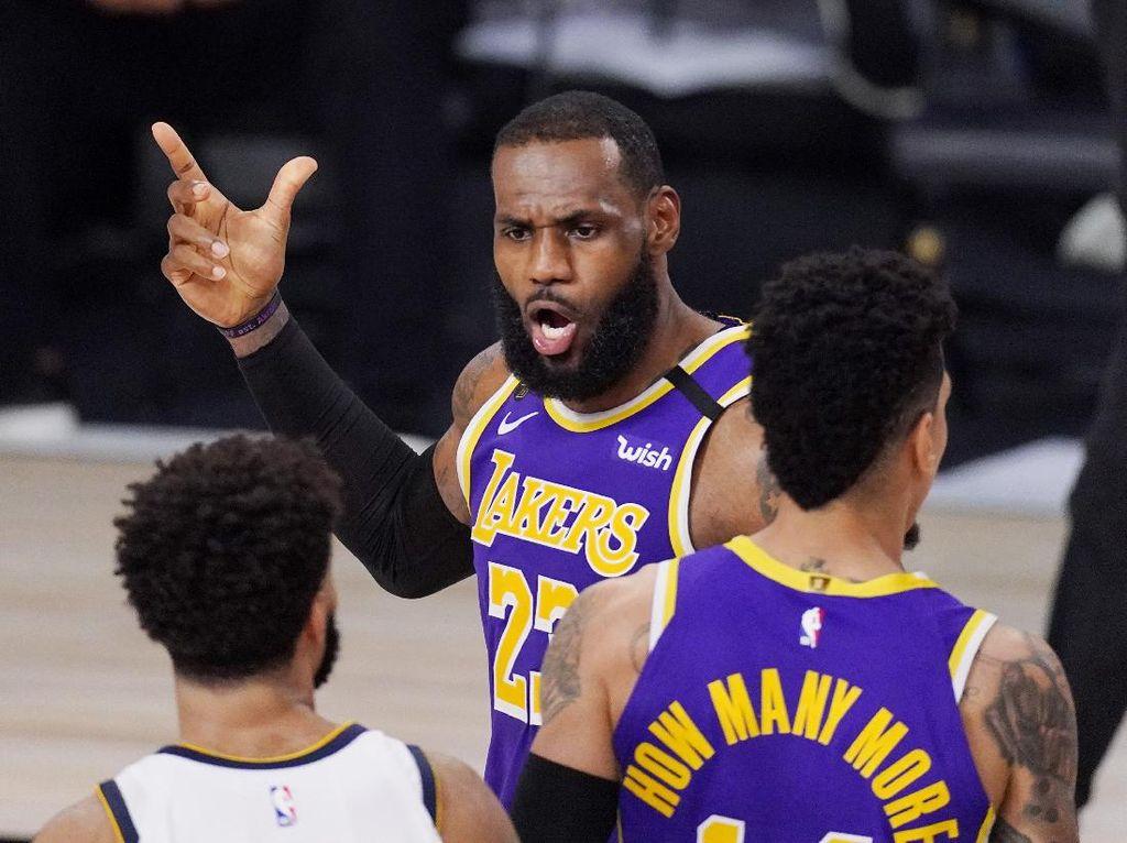 Hasil NBA: LeBron James Dominan, LA Lakers Melaju ke Final