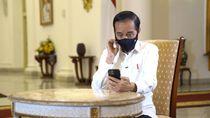 Dengar Curhat Dokter Paru, Jokowi Bayangkan Beratnya Tangani Corona