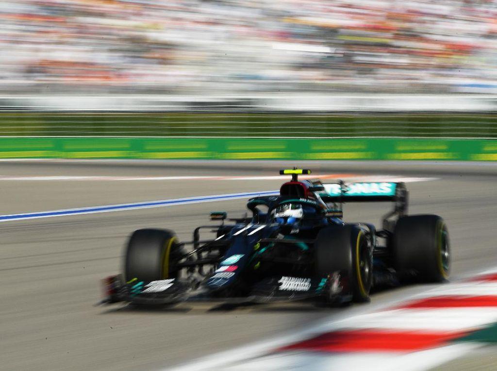 Hasil F1 GP Rusia: Hamilton Dapat Penalti, Bottas Jadi Pemenang