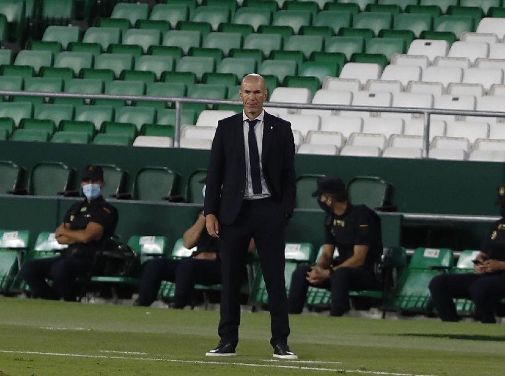 Kedalaman Skuad Madrid Sudah Puaskan Zidane