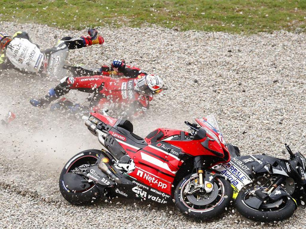 Johann Zarco Jadi Juara Jatuh di MotoGP 2020
