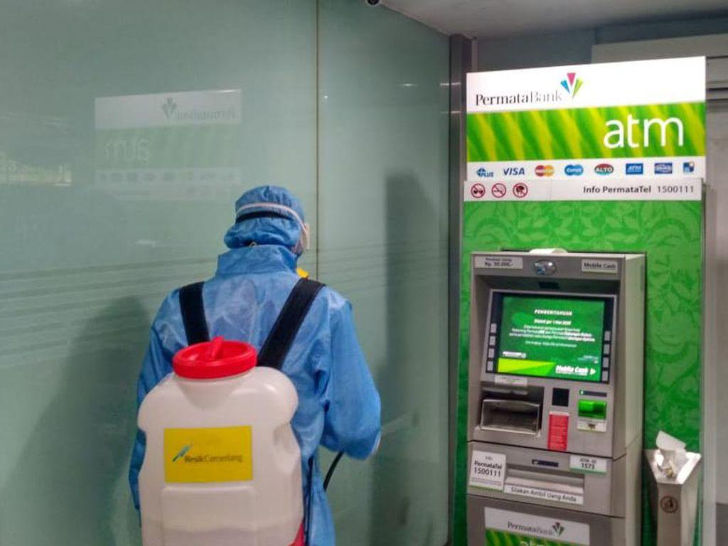 86 Karyawan kena Corona, Bank Permata Minta Nasabah Pakai M-Banking