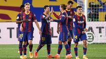 Video Barcelona Bantai Villarreal 4-0, Ansu Fati 2 Gol