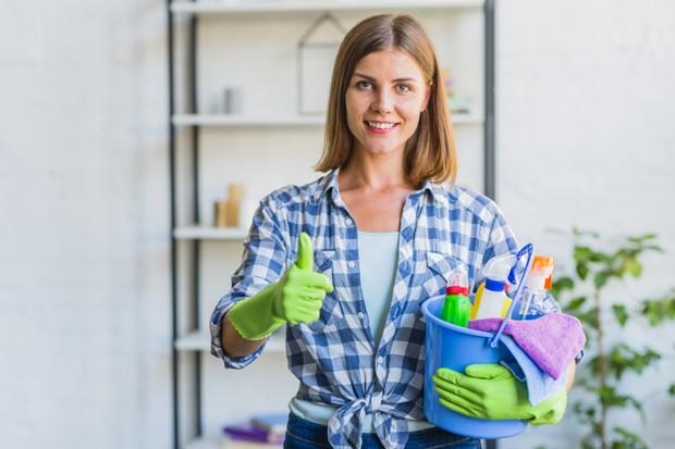Jangan meremehkan rumah bersih karena kenyamanan akan membuat hati senang.
