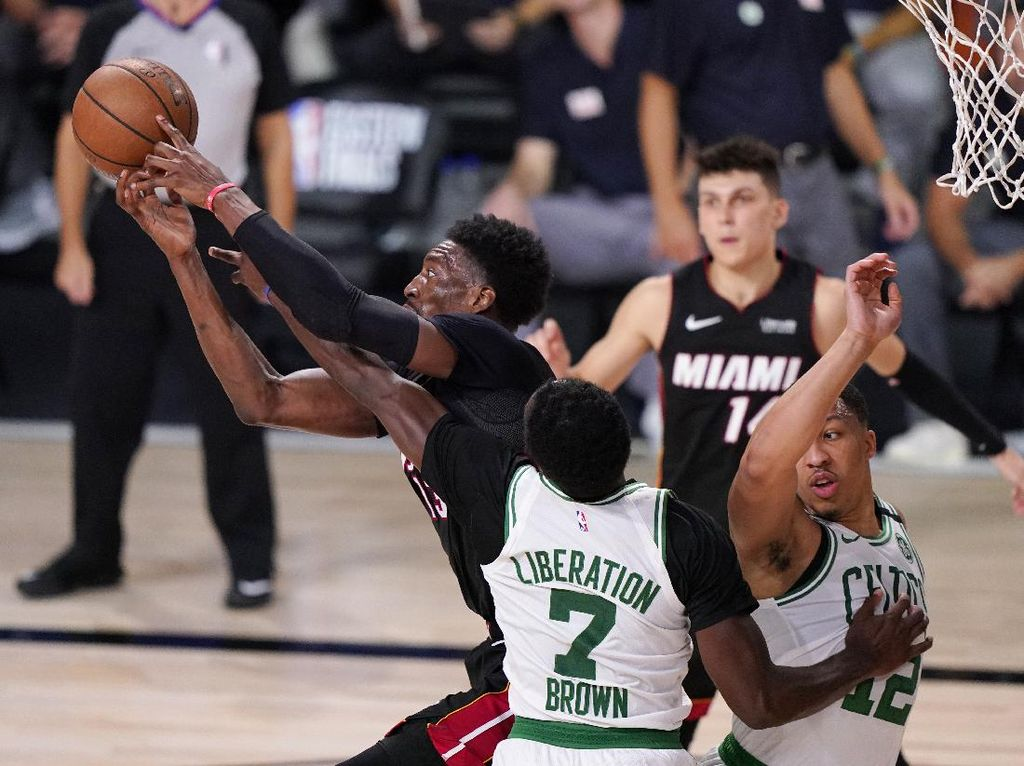 Kalahkan Celtics, Miami Heat Jumpa LA Lakers di Final NBA