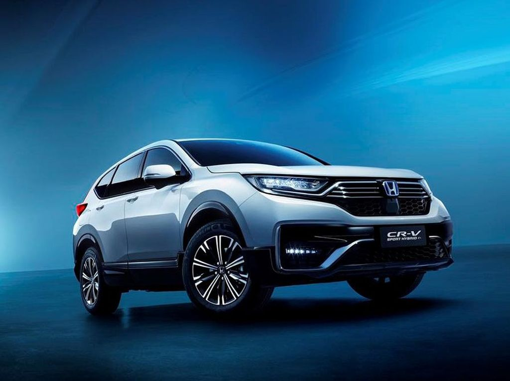 Honda CR-V Plug-In Hybrid Lebih Irit, 1 Liter untuk 90 Km