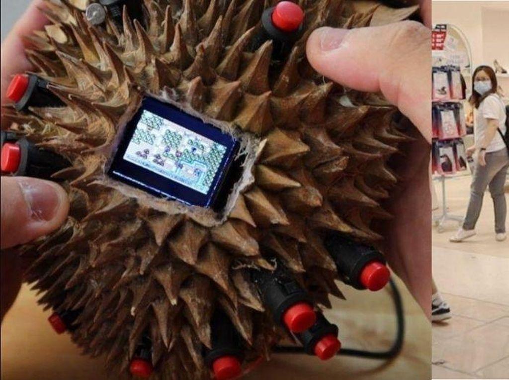 Setelah Semangka, Mahasiswa Ini Berhasil Ciptakan Game Boy Durian