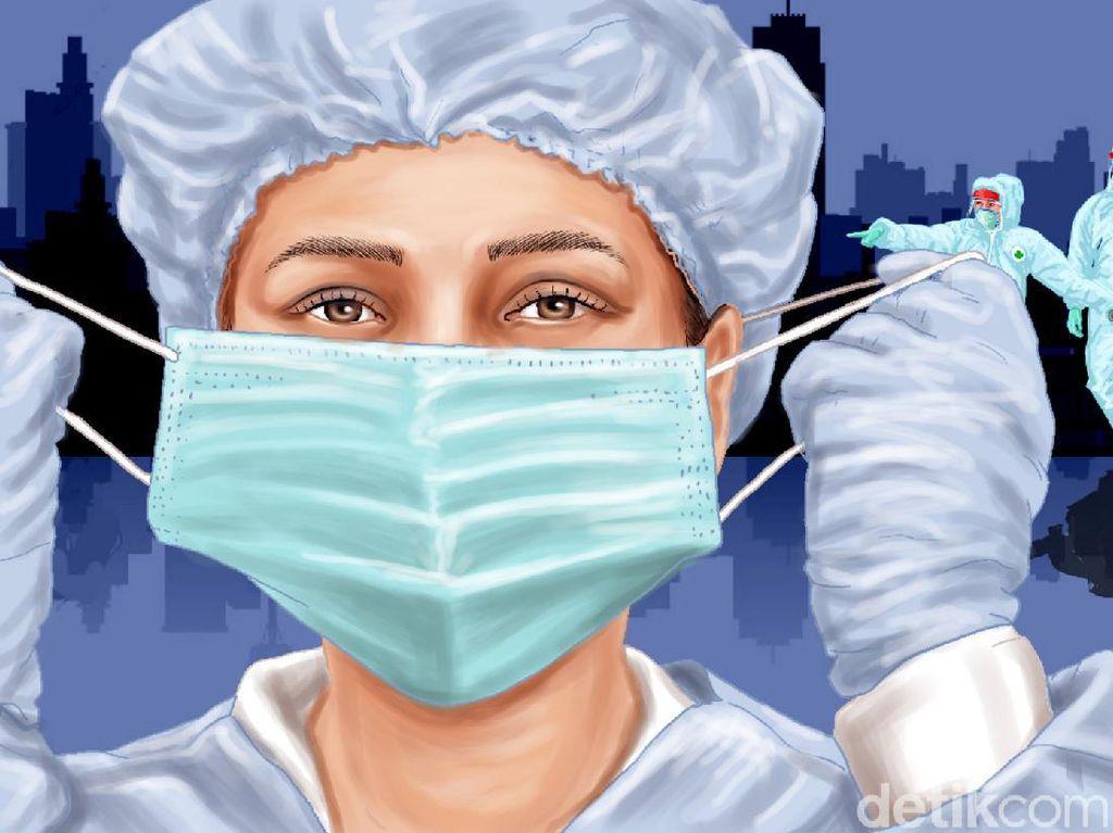 432 Perawat di Jabar Terpapar Corona Selama Pandemi