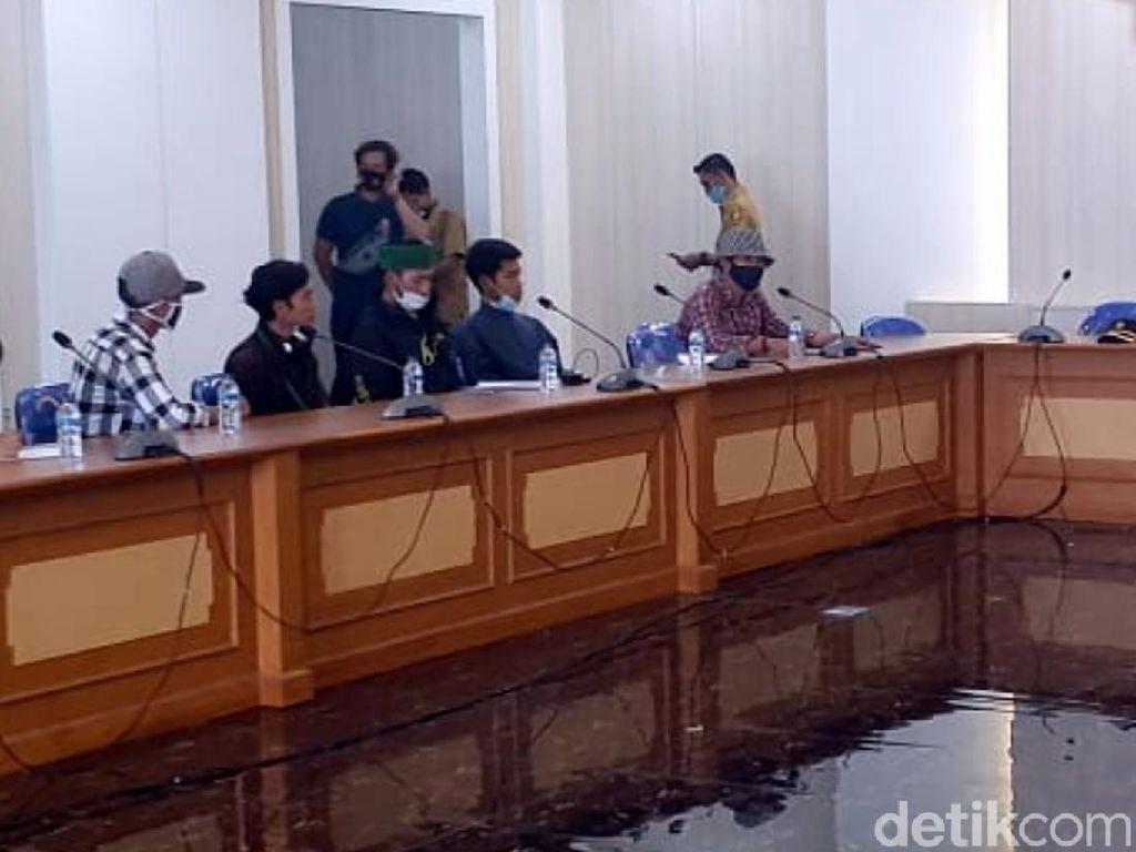 Mahasiswa Sukabumi Pertanyakan Penegakan Pembangunan di Sempadan Pantai