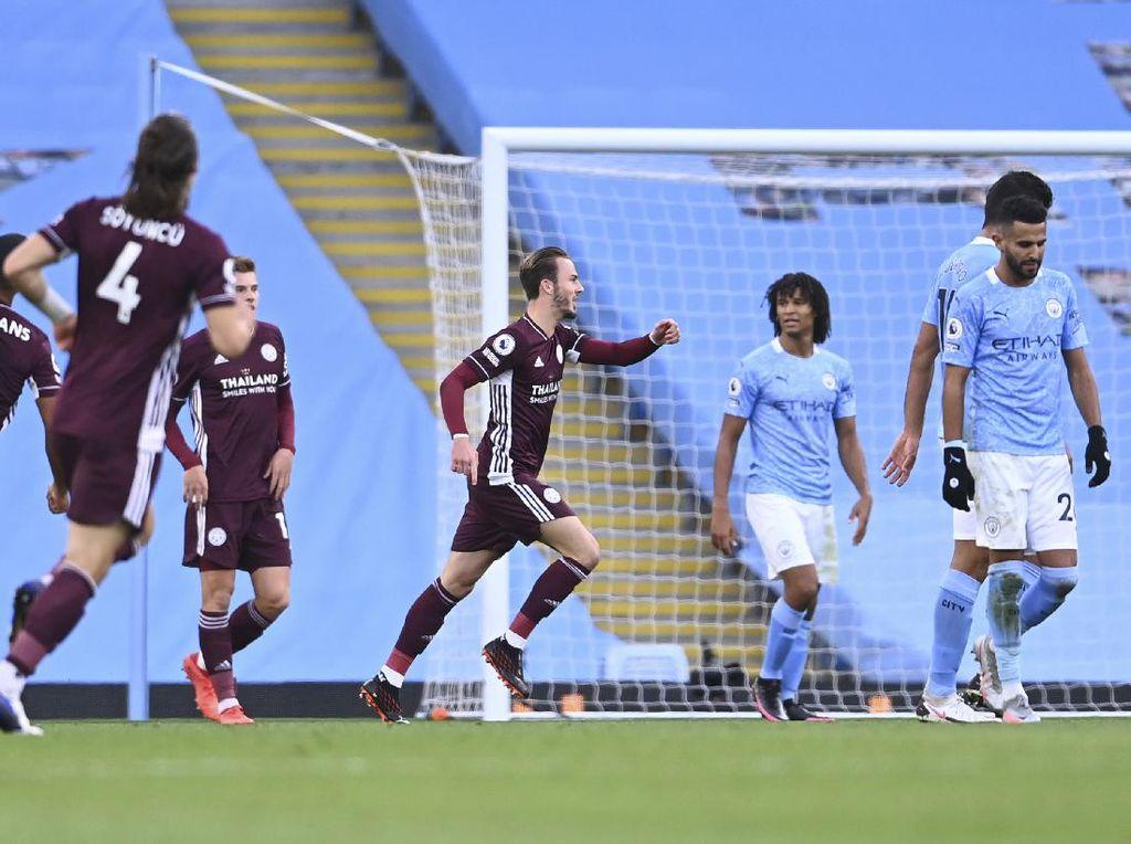 Man City Vs Leicester: 9 Fakta Kekalahan Telak The Citizens