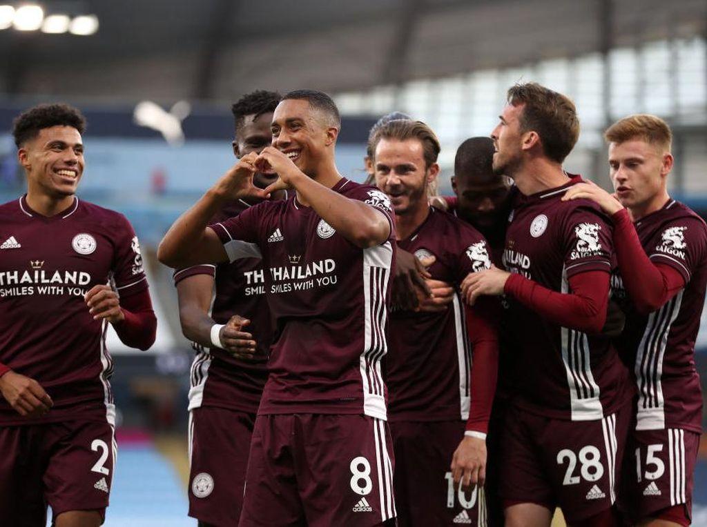 Rahasia Leicester Bisa Bantai Manchester City