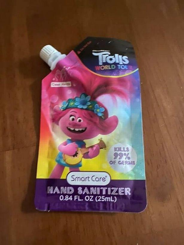 Dikira pure atau bubur bayi, ternyata hand sanitizer dengan kemasan lucu