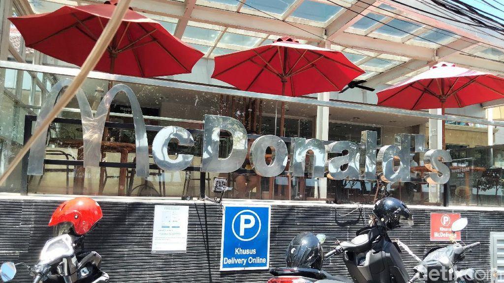 Foto: Suasana McDonalds Kuta Sehari Sebelum Ditutup