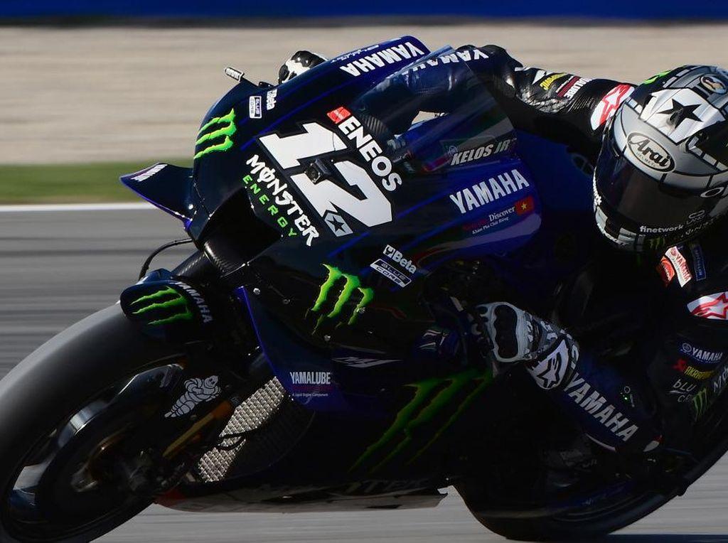 Vinales: Motor Yamaha Susah Dipakai di Trek Basah