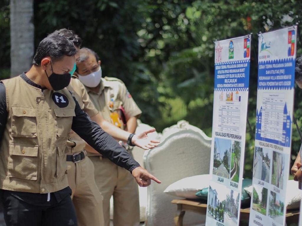 Pemkot Bogor Terima Aset PSU dari Empat Pengembang Perumahan