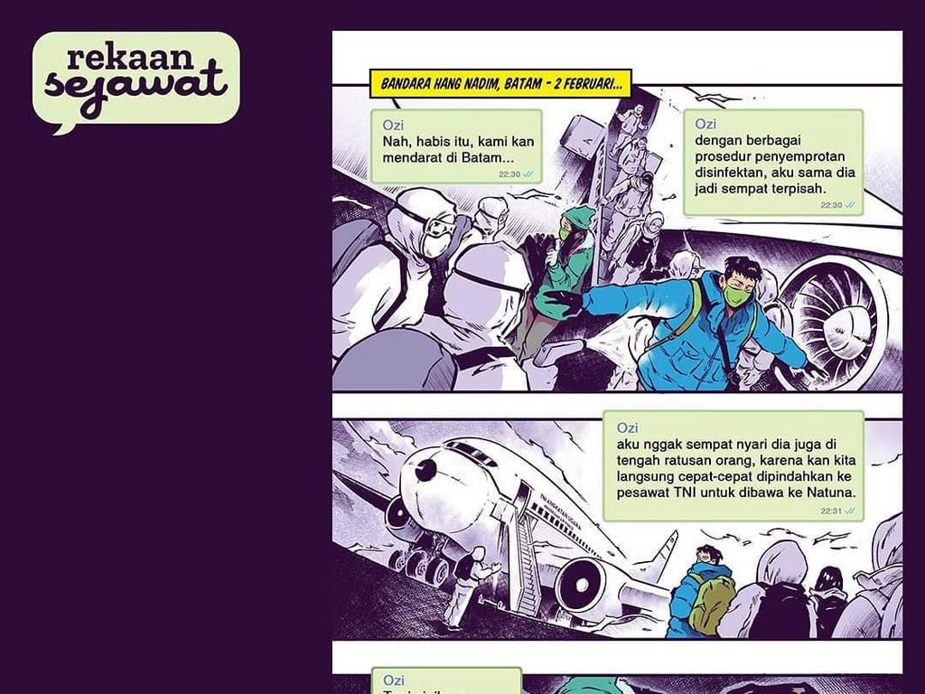 Pandemi Bikin 12 Komikus Garap Komik Pendek