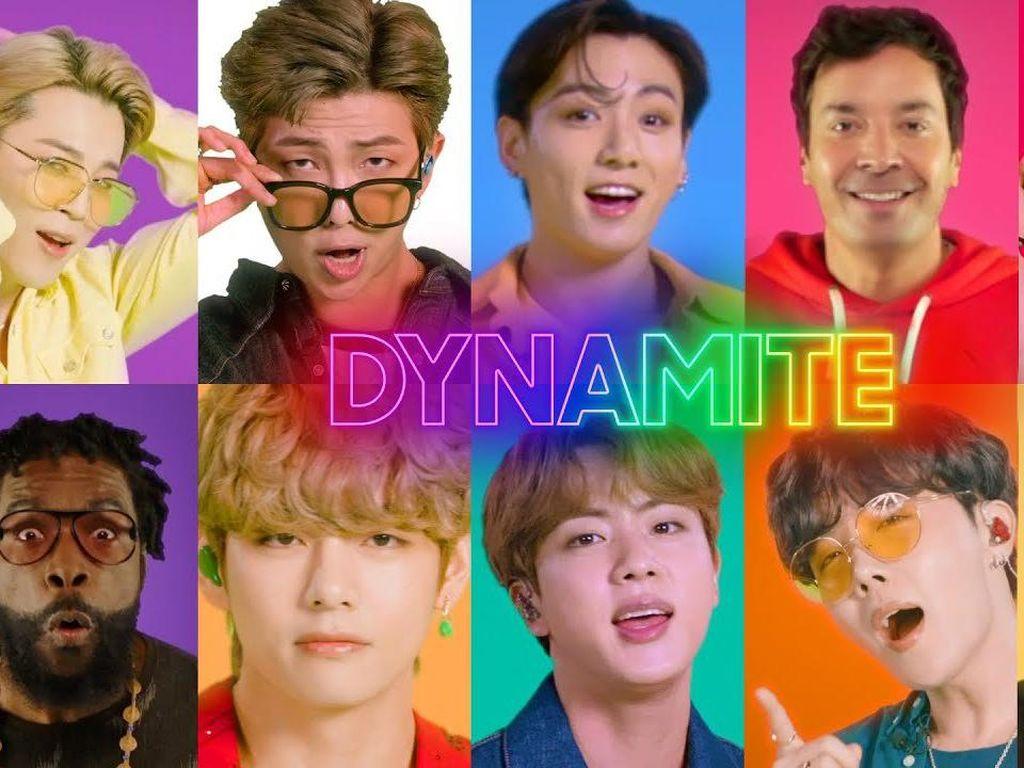 BTS Tampil di Istana Gyeongbokgung untuk Jimmy Fallon, Tonton di Sini!