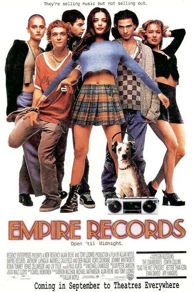 Semua karakter dalam film Empire Records memiliki gaya fashion yang luar biasa.