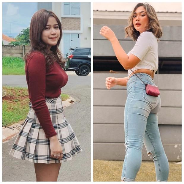 Dalam keseharian, Jodie lebih sering tampil mengenakan dress atau rok. Sementara Lala tampil kasual dengan celana jeans dan atasan.