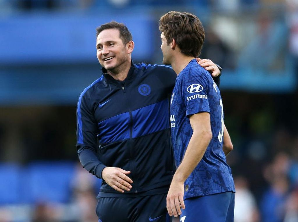 Drama Frank Lampard Vs Marcos Alonso