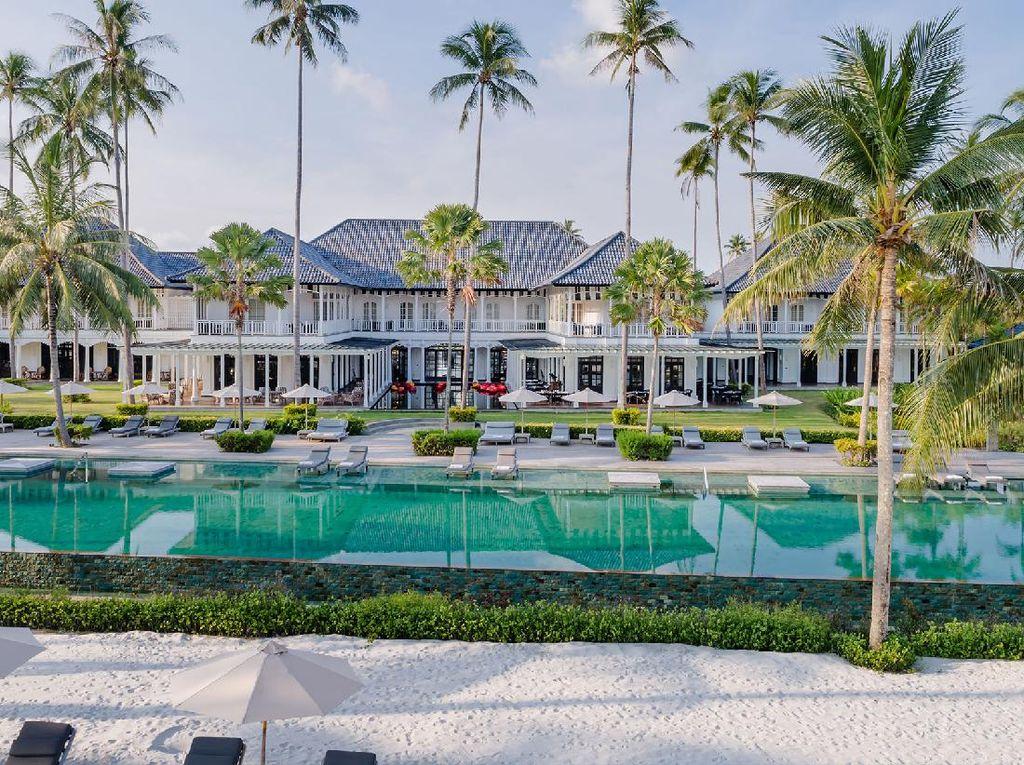 Foto: Hotel Mewah Menteri Saat di Bintan