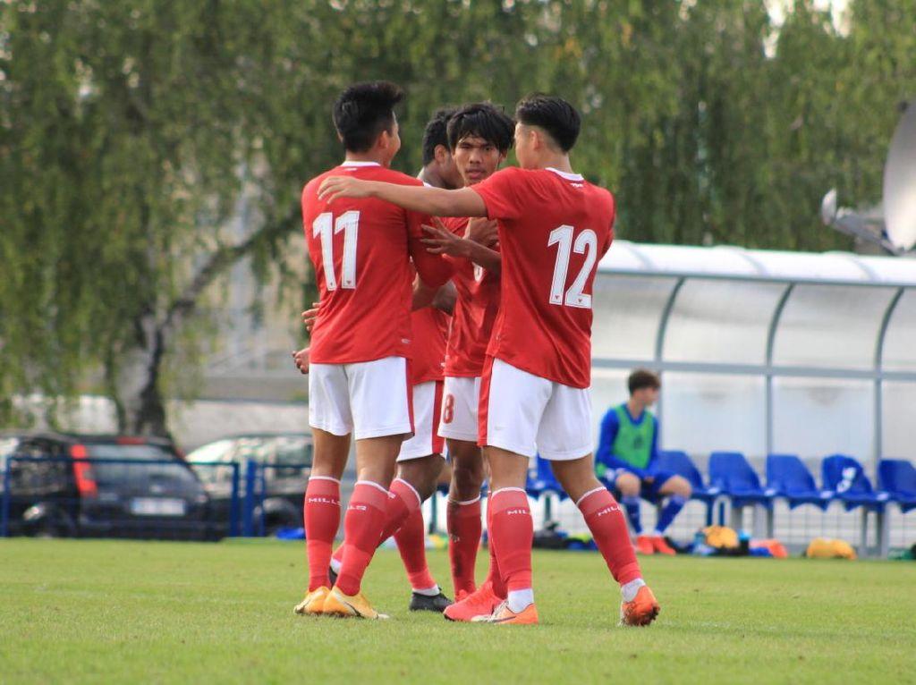 Timnas Indonesia U-19 Vs NK Dugopolje: Garuda Muda Menang 3-0