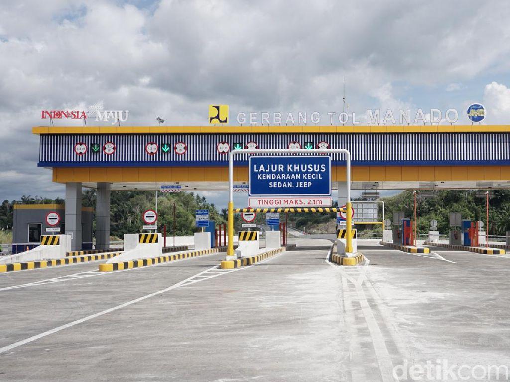 Tarif Tol Pertama di Sulut Diperkirakan Rp 1.100/Km