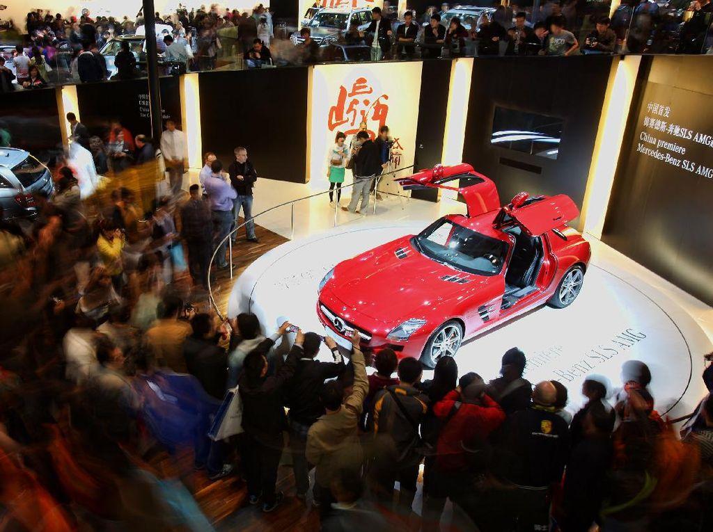 Meriah, Suasana Beijing Auto Show yang Digelar di Tengah Pandemi