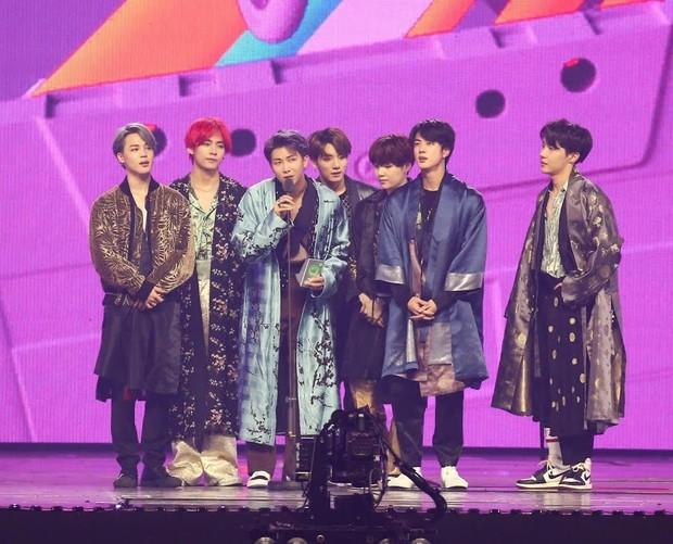 BTS di Melon Music Awards 2018/ Foto: Koreaboo