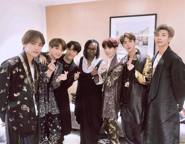 BTS di The Graham Norton Show/ Foto: Koreaboo