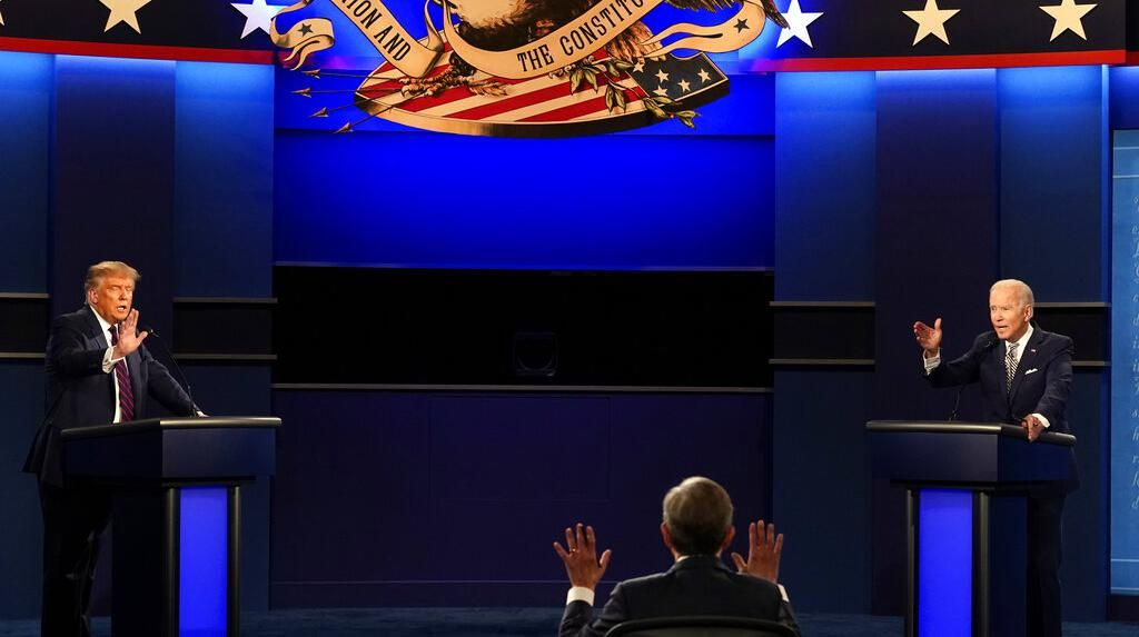 Debat Panas Donald Trump dan Joe Biden