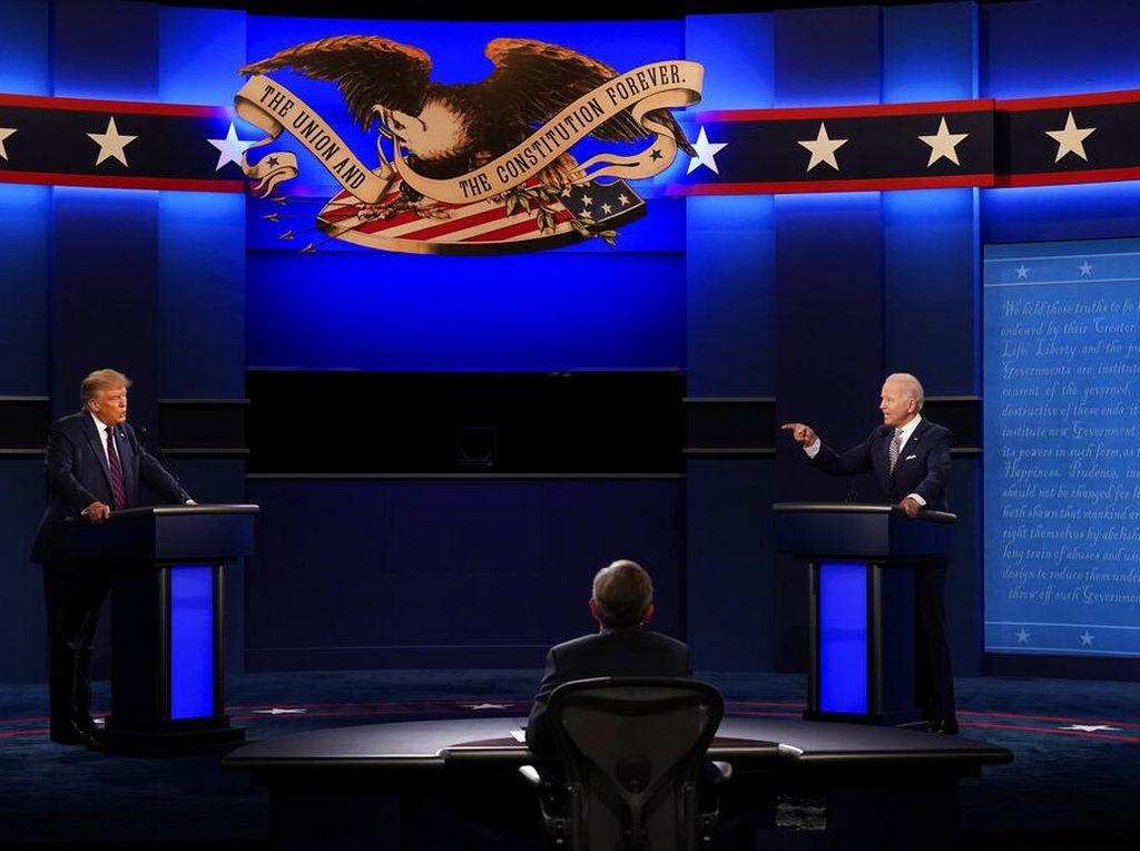 Debat Kedua Capres AS 15 Oktober Dibatalkan