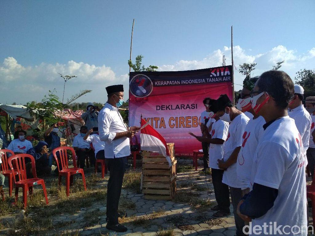Singgung KAMI, KITA Cirebon Deklarasi di TPA Kopi Luhur
