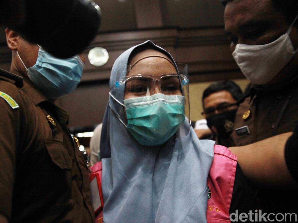Jaksa Pinangki Jalani Sidang Eksepsi